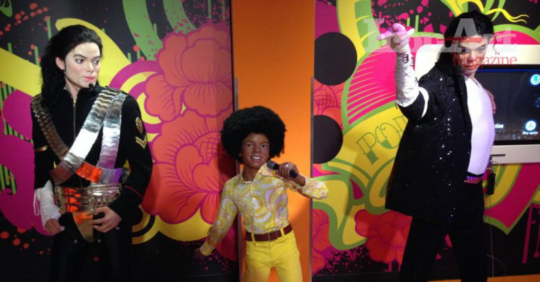 Michael Jackson - Museo delle cere Madame Tussauds (Londra)